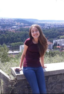 Daria homeschooling Romania student