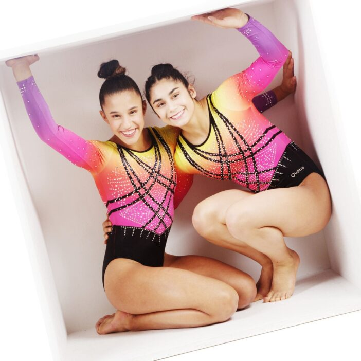Amelie and Phoebe - both Olympic hopeful gymnasts