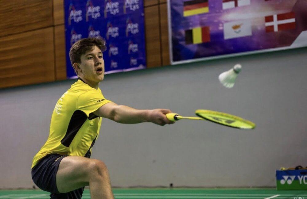 Ethan Rose badminton player