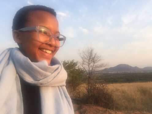 Student Zenzele Home Education in South Africa