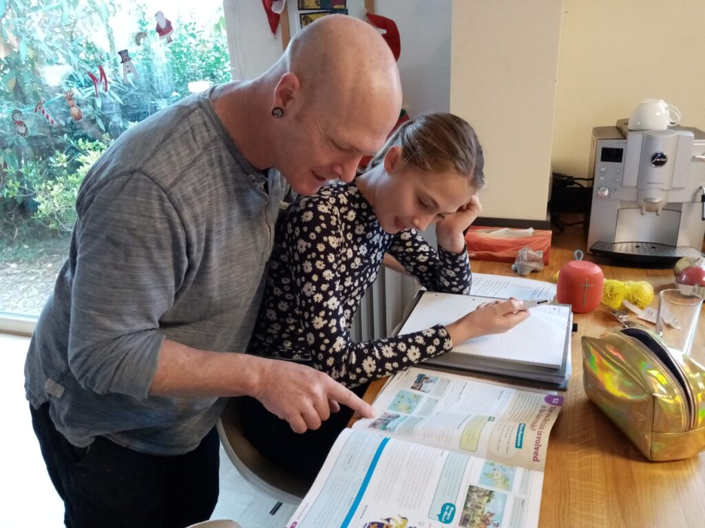 Warren Binedell found there was plenty of homeschooling help for parents