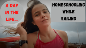 Homeschooling while sailing video
