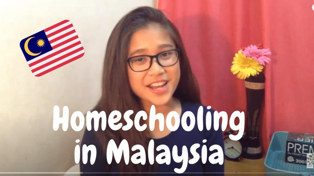 Lyana is homeschooling in Malaysia
