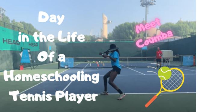 Homeschooling Tennis Player Coumba