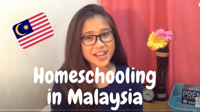 IGCSE homeschooling student Lyana