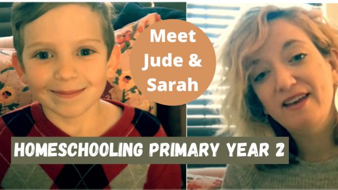 Meet Primary homeschooler Jude in Texas