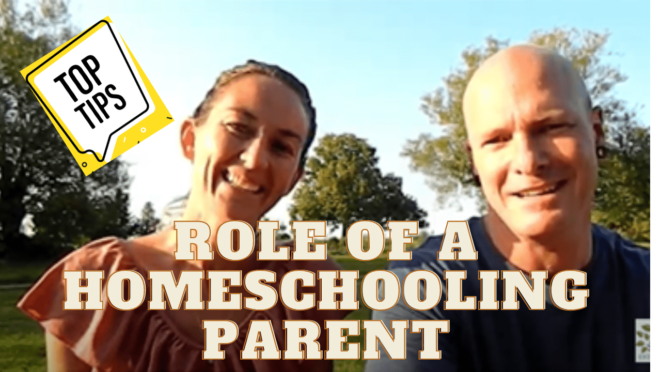 how homeschooling works - role of secondary parent