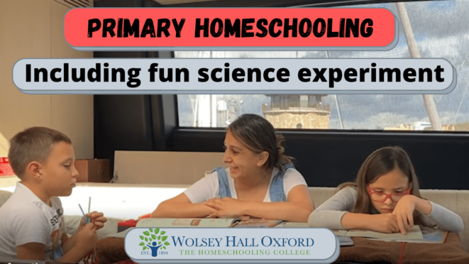 how homeschooling works - primary parent led courses