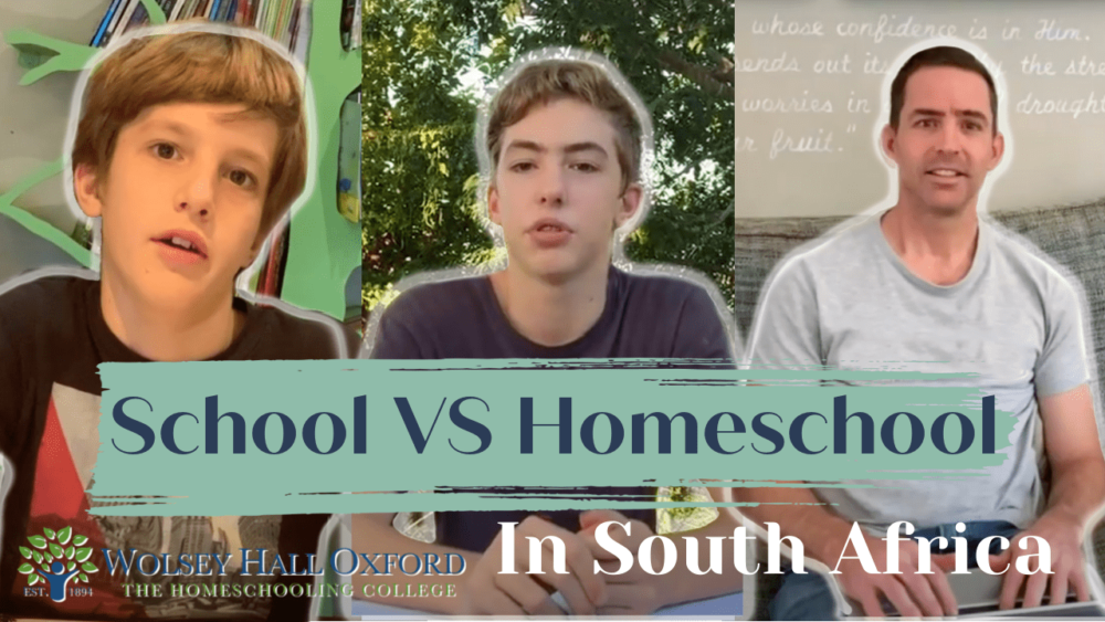 Chase and Raefe are homeschooling in South Africa