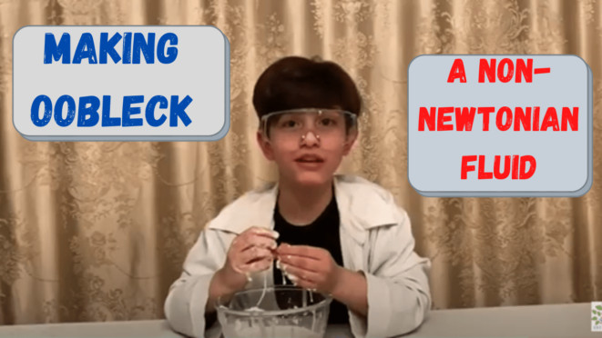 homeschooling science experiment making Oobleck