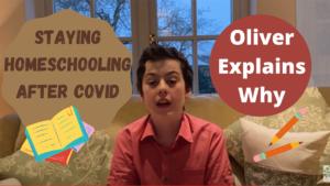 Satying homeschooling