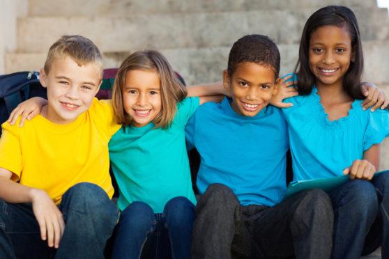 Upper Primary homeschooling children